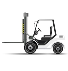 Forklift icon vector