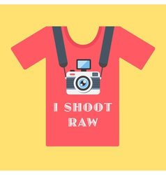 I shoot raw vector