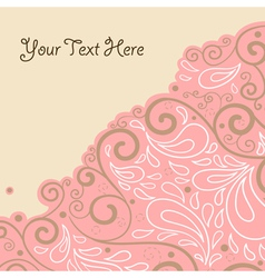 Abstract background with text field vector
