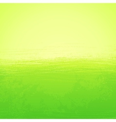 Abstract bright painted green background vector image