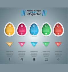 Help 3d digital infographic vector