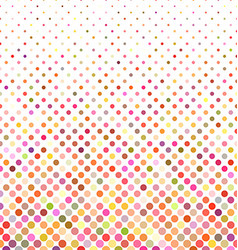 Multicolor dot background - vector