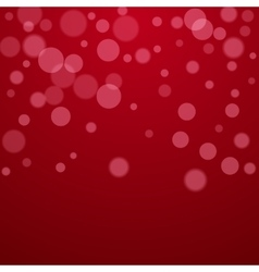 Red Valentine holiday background with circles vector image vector image