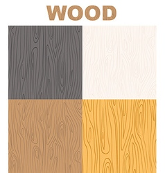 Set wood textures pattern wooden background vector image vector image