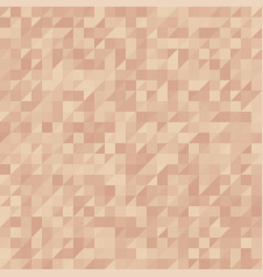 abstraction in triangles vector image vector image