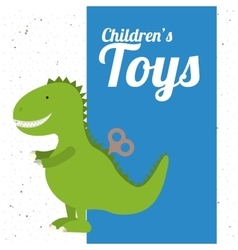 Children toys design vector