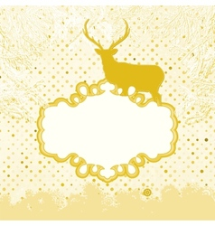 Christmas invitation card template eps 8 vector