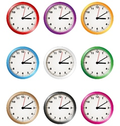 Clock collection vector