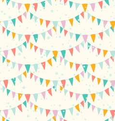 Garlands pattern vector image