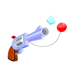 Icon gun vector