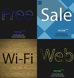 Set of the most popular web design icons on vector
