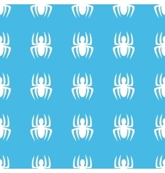 Spider straight pattern vector