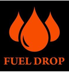 Drop of fuel vector