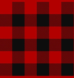 lumberjack plaid pattern vector image