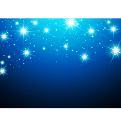 Night Star Background vector image vector image