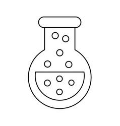 Video game flask potion elixir power vector