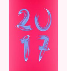 2017 vector image