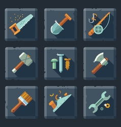 Tools and supplies vector