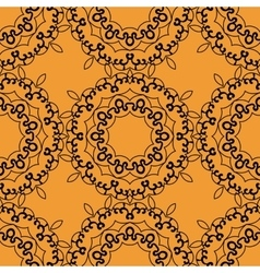 Seamless indian print tile vector