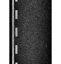 Asphalt background texture with some fine grain vector image vector image