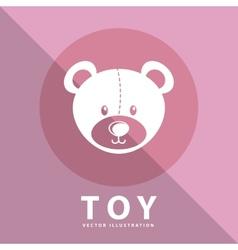 Toy icon vector