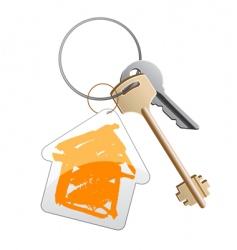 Keys with trinket vector