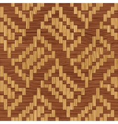 Wooden mosaic vector