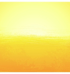 Abstract bright painted orange sunny background vector