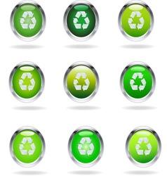 RECIKLAZA NOVA GLASS vector image