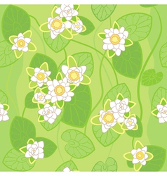 white lotus background vector image