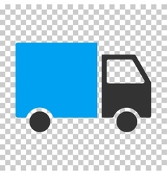 Delivery van eps icon vector