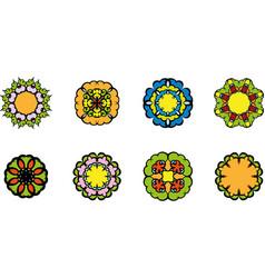 Flowers symbol vector