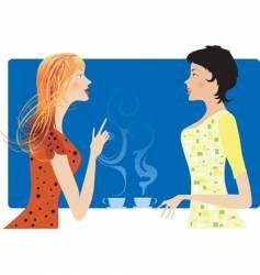 gossip vector image vector image