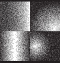 grainy sand textures patterns with black halftone vector image
