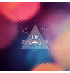Hipster background retro label design infographics vector