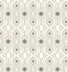 Seamless patterns flowers vector