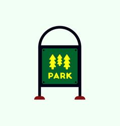 Garden sign vector