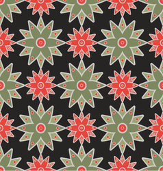 Asian seamless pattern vector