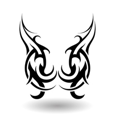 Tattos single vector image