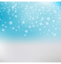 Falling snow background abstract snowflake pattern vector