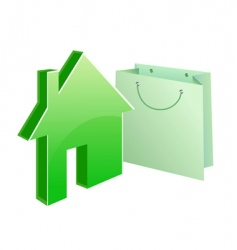 purchased house vector image