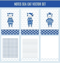 Template wrapping notebooks vector