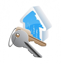 keys cottege vector image