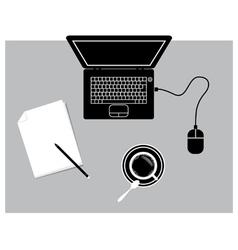 NTBworkstation vector image vector image