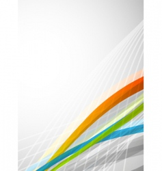 modernistic background vector image