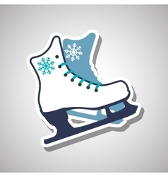 Skating icon design vector