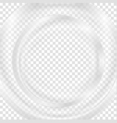 Grey abstract transparent circle background vector image vector image