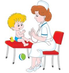Medical examination vector
