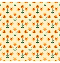 Seamless decorative pattern vector image vector image