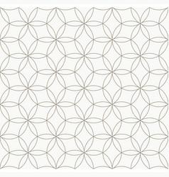 seamless geometric pattern circle pattern line vector image vector image